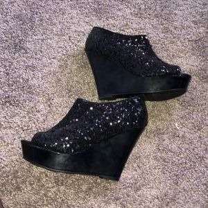 New Sequin Bootie